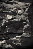 Rocas de la barranca magnífica foto de archivo