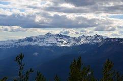 Rocas de la cabra vistas de la montaña de Darland Fotos de archivo libres de regalías