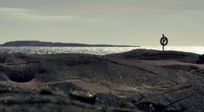 Rocas de la costa oeste Fotografía de archivo libre de regalías