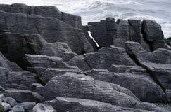 Rocas de la crepe Imágenes de archivo libres de regalías