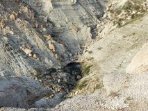 Rocas de la estepa Foto de archivo libre de regalías