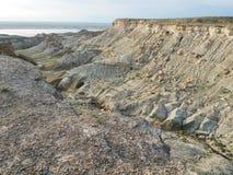 Rocas de la estepa Foto de archivo