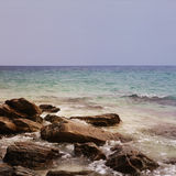 Rocas de la isla Imagen de archivo libre de regalías