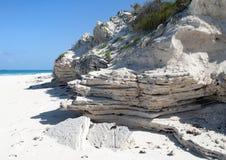 Rocas de la isla caribeña Imagenes de archivo