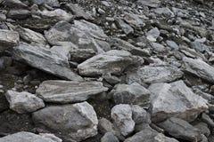Rocas de la montaña fotos de archivo libres de regalías