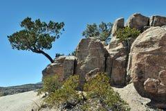 Rocas de la montaña foto de archivo libre de regalías