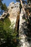 Rocas de la piedra arenisca. Imagen de archivo libre de regalías