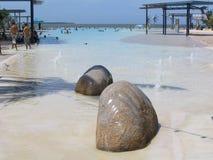 Rocas de la piscina Fotos de archivo