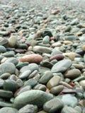 Rocas de la playa fotografía de archivo