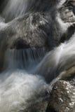 Rocas de la reunión de las aguas Fotografía de archivo