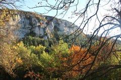Rocas de Madara foto de archivo libre de regalías