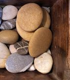Rocas de madera Imagen de archivo libre de regalías