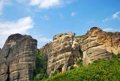 Rocas de Meteora, Grecia Fotos de archivo
