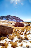 Rocas de Nevado de toluca Xinantecatl Imágenes de archivo libres de regalías