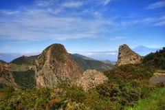 Rocas de Ojila y de Carmona fotos de archivo