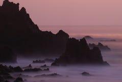 Rocas de Palos Verdes Foto de archivo libre de regalías