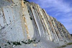 Rocas de piedra rectas fotografía de archivo libre de regalías