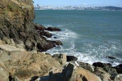 Rocas de San Francisco Bay Fotos de archivo libres de regalías
