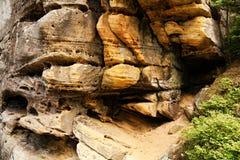 Rocas de Teplice Fotografía de archivo libre de regalías