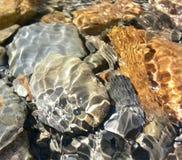 Rocas del agua Foto de archivo libre de regalías
