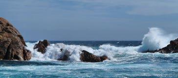 Rocas del canal Imagenes de archivo