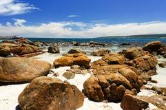 Rocas del canal Imagen de archivo libre de regalías