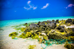 Rocas 4 del coral Fotografía de archivo