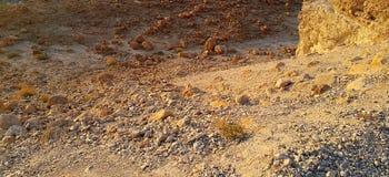 Rocas del desierto de Judean Imagen de archivo