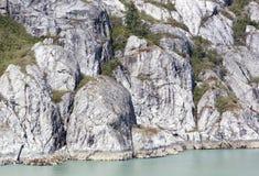 Rocas del Glacier Bay Imagen de archivo