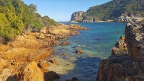 Rocas del lado de mar Foto de archivo