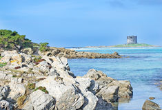 Rocas del litoral Foto de archivo libre de regalías