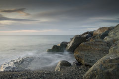 Rocas del mar Foto de archivo libre de regalías