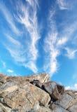Rocas del monstruo de la trona Fotografía de archivo libre de regalías