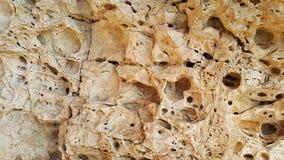 Rocas del monte Carmelo Fotos de archivo