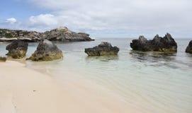 Rocas del océano Fotos de archivo libres de regalías