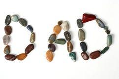 Rocas del papá Fotos de archivo libres de regalías