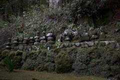 Rocas del templo en Hakone, Japón Fotografía de archivo