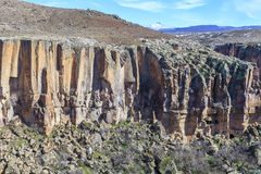 Rocas del valle de Ihlara Turquía Fotos de archivo libres de regalías