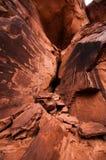Rocas del valle del monumento Fotos de archivo