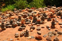 Rocas del zen Foto de archivo