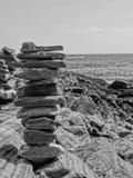 Rocas empiladas Imagen de archivo libre de regalías