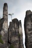 Rocas en Adrspach Fotografía de archivo libre de regalías