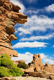 Rocas en Bolivia Foto de archivo