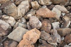 Rocas en Clinton State Park en Kansas Imágenes de archivo libres de regalías