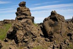 Rocas en Dimmu Borgir fotografía de archivo libre de regalías