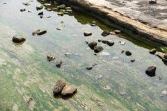 Rocas en el agua Fotografía de archivo libre de regalías