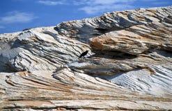 Rocas en el lago Powell Imagen de archivo