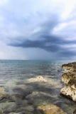 Rocas en el mar Imagen de archivo