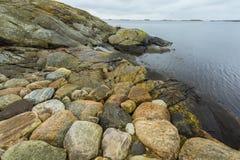 Rocas en el mar Fotografía de archivo libre de regalías