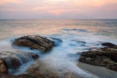 Rocas en el océano Foto de archivo libre de regalías